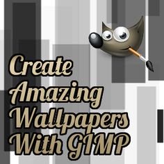 5 Tutorials To Make Your Own Amazing Wallpapers In GIMP   image