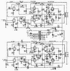 60W x2 standard linear type tube amplifiers
