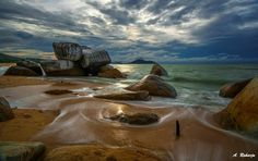 Before Rain by Anton Raharja  Daylight at Samudra Beach, Singkawang, West Borneo, Indonesia.  Anton Raharja: Photos          500px