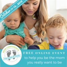 Want some help becoming the mom you REALLY want to be? Join me for THE MOM CONFERENCE October 13, 14 & 15th. It features 20 amazing speakers sharing invaluable information on parenting and self-development. And EVERYONE can come because it's FREE plus it's ONLINE so you can watch from your own computer at home. Register today! https://tt145.infusionsoft.com/go/momcreg/Elfygirl99/