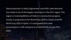 World Cup 2022, Fifa World Cup, World Expo 2020, Challenges And Opportunities, Steel, Steel Grades, Iron