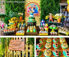 Winnie the Pooh Party -  Festa Infantil Ursinho Pooh