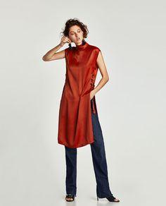 Jumpsuit Dress, Shirt Dress, Best Blazer, Zara Women, Pleated Skirt, Style Me, Normcore, High Neck Dress, Style Inspiration