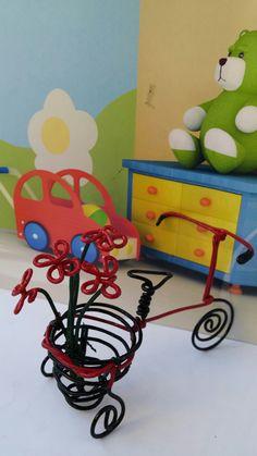 3wheel handmade wire bike
