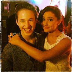 Ryan Beatty and Ariana Grande
