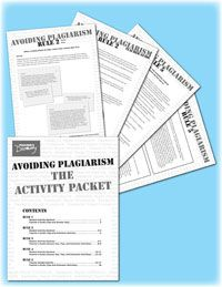 plagiarism handouts worksheet and quiz discover more ideas about worksheets and avoiding. Black Bedroom Furniture Sets. Home Design Ideas