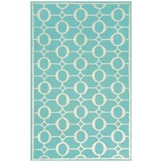 I pinned this Grace Rug in Aqua from the Liora Manne event at Joss and Main!