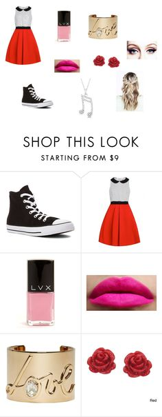 """Untitled #73"" by maya-03-b on Polyvore featuring Converse, LVX, Lanvin, Eternally Haute and Allurez"