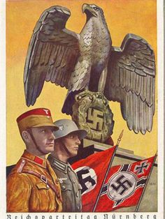German WW2 - - - If Trump gets the presidency with a Republican legislature, THIS WILL BE US!!!