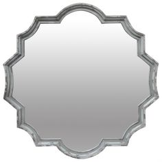 The Daisy metalframedmirror is a beautifully unique accent piece for your home decor.