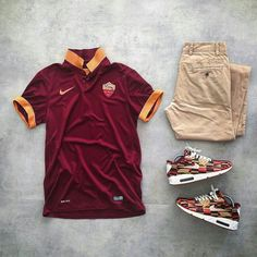 as Roma outfit grid