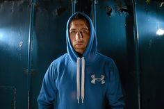 Leinster's Kevin McLaughlin at the launch of Under Armour's Storm Cotton range