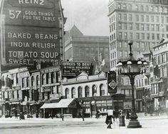 1900--site of the Flatiron Building