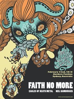 Faith No More with Eagles Of Death Metal and Neil Hamburger.