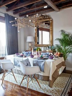 Everything, but mostly that chandelier. Yum.