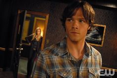 """""""Sin City""""-- (L-R) Pictured Katie Cassidy as Ruby and Jared Padalecki as Sam in SUPERNATURAL on The CW. Photo Sergei Bachlakov /The CW © 2007 The CW Network, LLC.  All Rights Reserved"""