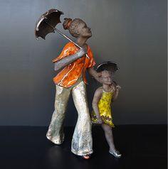 Art'Optic accueille les œuvres de Blandine Destouches dans sa boutique.