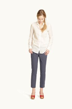 G1 Lawn Shirt + Pencil Pants   www.g1goods.com/