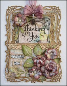 Decorative Labels Eight, Labels Eight  Rose Creations, Foliage, Botanical Swirls and Accents -  Spellbinders dies