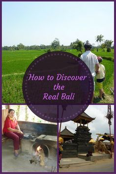 Things to do in Bali: Take a bike tour to see and learn more about the local culture of Bali