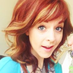 Lindsey Stirling - I want her hair.