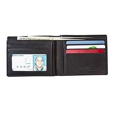 Rogue WALBIFOLDBLK-6 Black RFID Bifold Wallet 6-Slot by Rogue Wallet. $30.00. Don't get scammed! A new form of pickpocket has appeared on the scene, and you don't even need to be physically touched to lose your valuables. Crooks now can electronically scan your credit and ATM cards, while they are still in your wallet or purse, wit