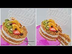 Tort raw din morcovi si crema fina de caju - YouTube Cake, Desserts, Youtube, Food, Cream, Tailgate Desserts, Deserts, Food Cakes, Eten