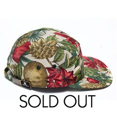 Image of MOUPIA December floral 5 Panel Hat