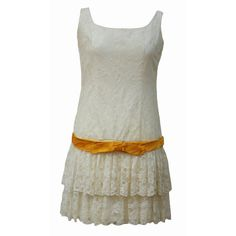 Fun and flirty lace vintage 50s flapper dress