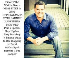 Register at http://mlsp.co/l2uo7 for the goods on the best and easiest blogging system...Wednesday, November 4 at 9 pm EST.