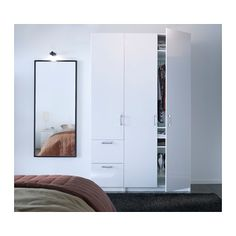 40 use for closet doors stave mirror white 15 3 4x63 ikea dyi and home pinterest. Black Bedroom Furniture Sets. Home Design Ideas