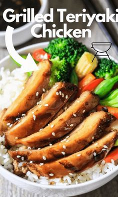 This is an authentic teriyaki chicken recipe that has all the flavors you expect. Read on to see how easy it is to make Chinese food from scratch. #chickenrecipe #chicken #teriyakichicken #grilledchicken #easyfood