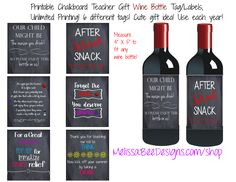 What is the perfect 'go to' gift for Christmas for a party host/your neighbors/your friends/your family/grab bag gift or your kid's teachers?!?! WINE. That is all. And yes I said …