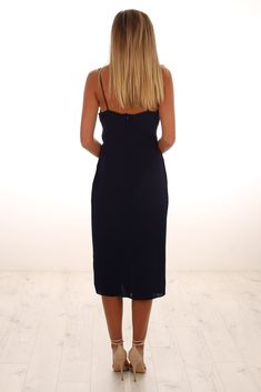 Check out this product from Jean Jail: Cooper St: Camilla Frill Drape Dress French Navy