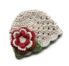 Crochet Baby Hat... Hmm.. Gift idea for the god daughter?!
