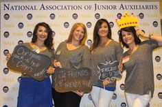 Members attending National Education Conference in Birmingham Alabama May 2015. #aec2015 #naja #juniorauxiliary #photobooth #jaofabbeville #crowningmoments