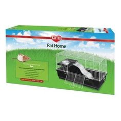 SMALL ANIMAL - CAGES - MY FIRST HOME PET RAT - 24X12 - CENTRAL - SUPER PET/PETs INTL - UPC: 45125502169 - DEPT: SMALL ANIMAL PRODUCTS