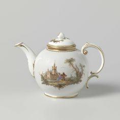 Part of a coffee and tea service, Manufactuur Oud-Loosdrecht, c. 1778 - c. 1782