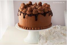 Tort śmietanowy z owocami i czekoladą - I Love Bake Oreo, Food And Drink, Candy, Chocolate, Cakes, Chocolates, Sweets, Candy Bars, Brown