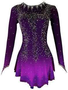 Ice Dance Dresses, Ice Skating Dresses, Dance Outfits, Figure Skating Outfits, Figure Skating Costumes, Skate Wear, Teenager Outfits, Costume Dress, Hogwarts
