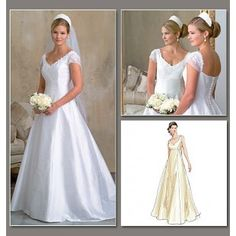 Trending Buy Vogue Women us Bridal Gown Sewing Pattern from our Sewing Patterns range at John Lewis