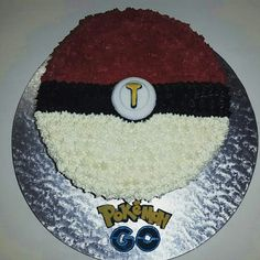 Pokemon go cake Pokemon Go Cakes, Baked Goods, Plates, Baking, Heart, Tableware, Plate, Dinnerware, Griddles