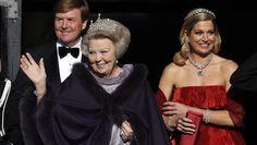 King Alexander, Queen Maxima and Princess Beatrix