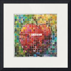"""""""Day Four Mosaic"""" by Jennifer Visscher Frames On Wall, Framed Wall Art, Wall Art Prints, Fine Art Prints, Framed Prints, Canvas Prints, Mosaic Art, Mosaic Tiles, Image Patch"""