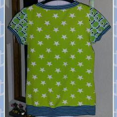 Retro-Sternen-Shirt für Damen in Größe S  www.schmuckwerk-allgaeu.de