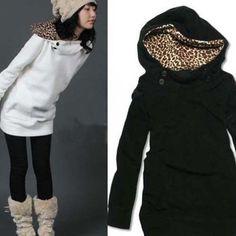 Dlhé jarná bunda Vlastnosti: * Extrémne módy a pútavý * Materiál: bavlna blended * Pattern Type: Leopard * Veľkosť: Bezplatne veľkosť * Referenčný Veľkosti: * Bust: 93 do 100cm * Shoulder: tridsať deväť do dvěačtyřicetcm * Rukáve: 57 cm * Dĺžka: šesťdesiat jedna cm https://www.cosmopolitus.com/womens-fashion-leopard-long-sweatshirt-hoodie-outwear-p-159061.html?language=sk&pID=159061 #sveter #skapucnou #sportove #oblecenie #teplaky #kapucna #elegantne #tunika #saty