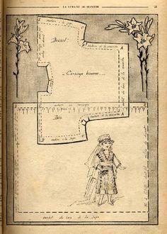 Bleuette 1919 - Robe de mariée