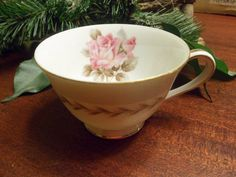 Noritake China, Rosemont Pattern, Coffee Cup Or tea Cup