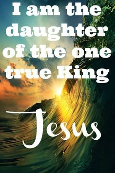 ❥ Daughter of the One True King~ Jesus