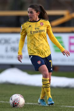 Football Love, Football Girls, College Football, Arsenal Ladies, Arsenal Fc, Female Football Player, Football Players, Soccer Pictures, European Soccer